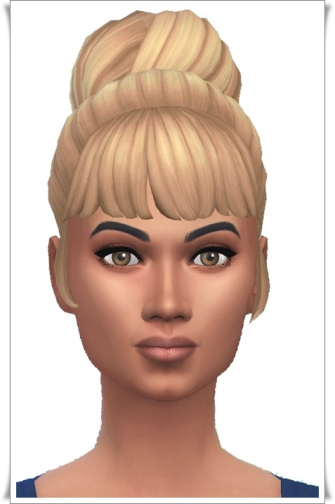 Birksches sims blog: Cordelia's Bun for Sims 4