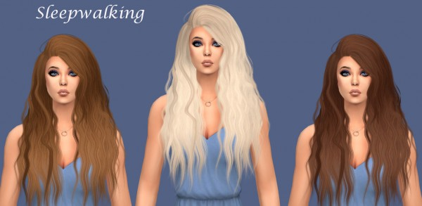Sims Fun Stuff: NightCrawler`s Bombshell, Blaze, LeahLillith`s Elle hair retextured for Sims 4