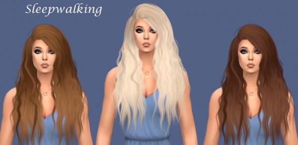 Sims Fun Stuff: NightCrawler`s Bombshell, Blaze, LeahLillith`s Elle hair retextured for Sims 4