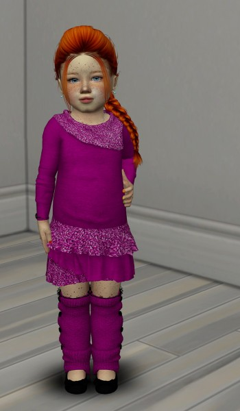 Coupure Electrique: Anto`s Kimberly Hair retextured kids and toddlers for Sims 4