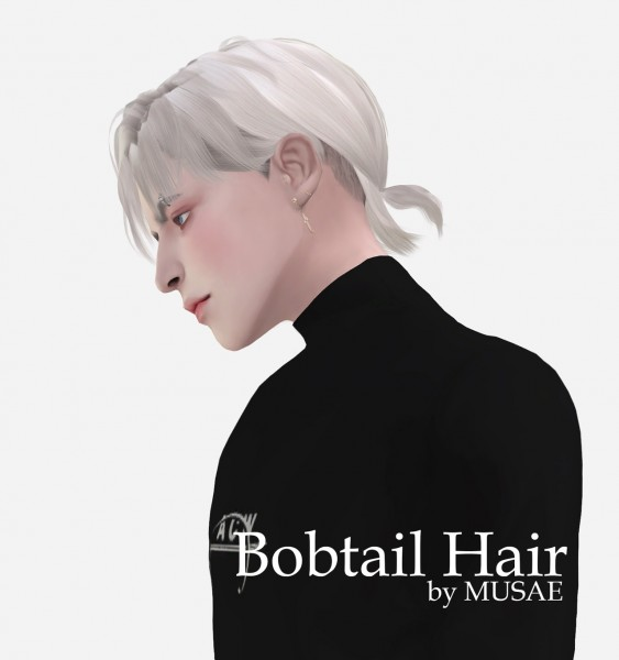 Effie: Bobtail Hair for Sims 4