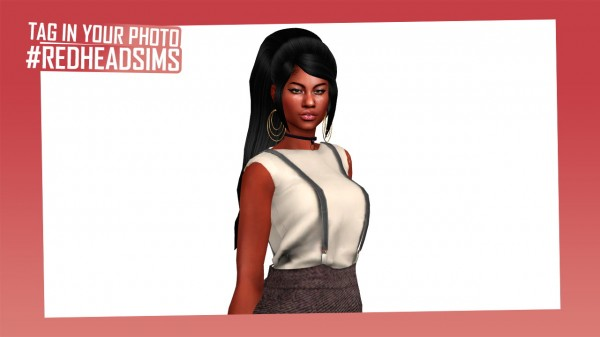Coupure Electrique: Belly Hair for Sims 4