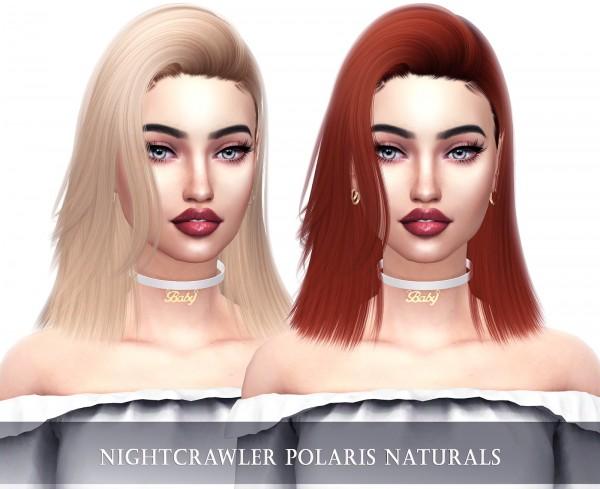Kenzar Sims: Polaris Naturals Hair Retextured for Sims 4