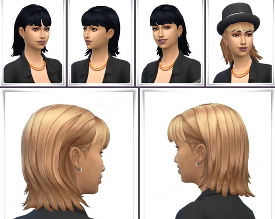 Birksches sims blog: MCP Hair and Bangs for Sims 4