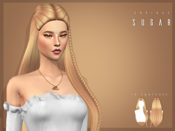 Enrique: Sugar Hair for Sims 4