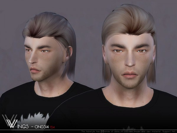 The Sims Resource: WINGS ON0314 for Sims 4