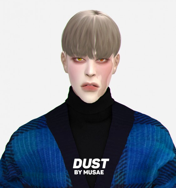Effie: Dust hair for Sims 4