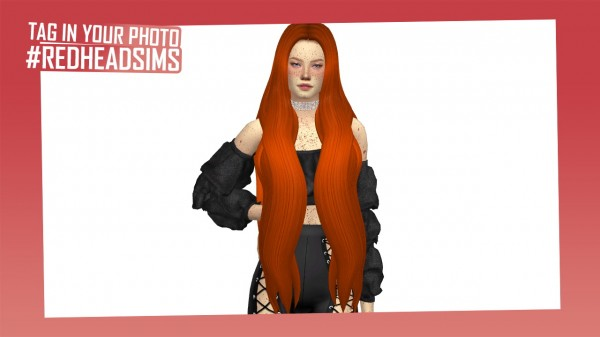 Coupure Electrique: Mariah Hair for Sims 4