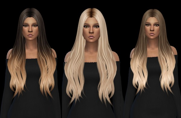 Leo 4 Sims: Muse Hair Recolored for Sims 4