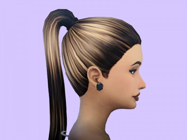 The Sims Resource: BaseGame hair retextured and recolored by JazzyXsims19 for Sims 4