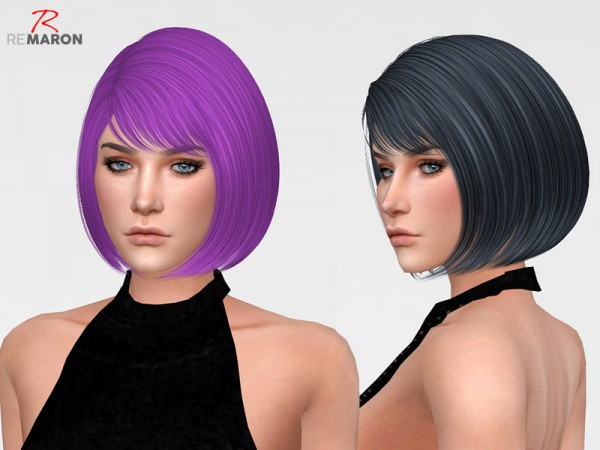 The Sims Resource: Dove Hair Retextured by Remaron for Sims 4