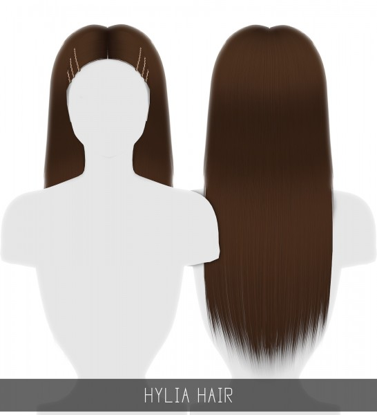 Simpliciaty: Hylia Hair for Sims 4