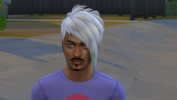Mod The Sims: Lysander hair recolored by sarecool for Sims 4
