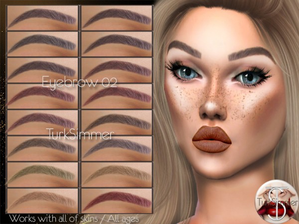 The Sims Resource: Jewel Tones   Effie Hair Recolored by neinahpets for Sims 4