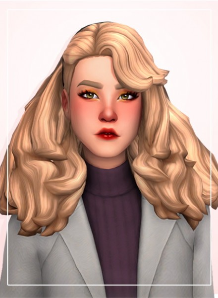Simandy: Classy hair retexxtured for Sims 4