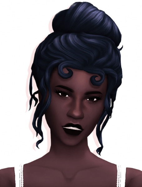 Simandy: Purity hair for Sims 4