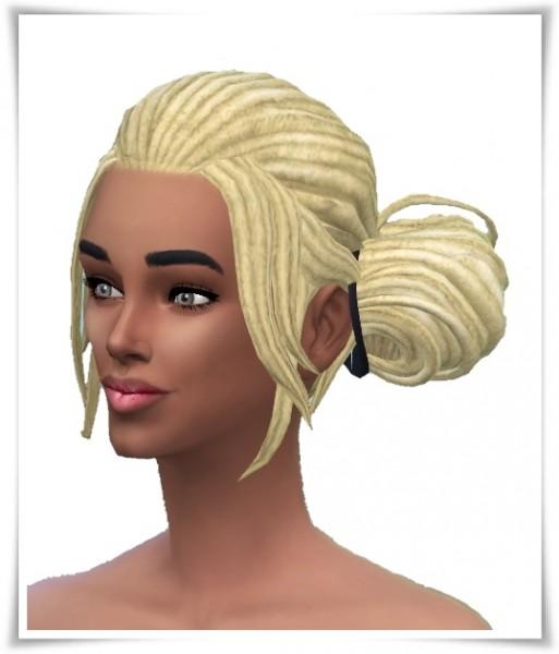 Birksches sims blog: Miriam's Dread Knots Hair for Sims 4