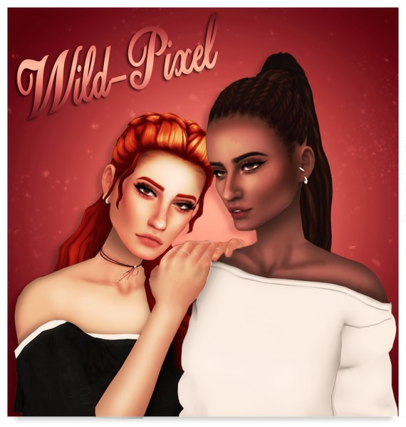 In My Dreams: Rose   Hair Pack for Sims 4