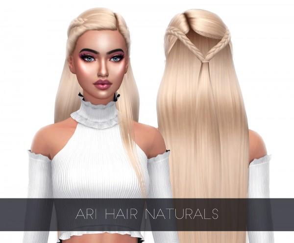 Kenzar Sims: Air Hair Naturals Retextured for Sims 4