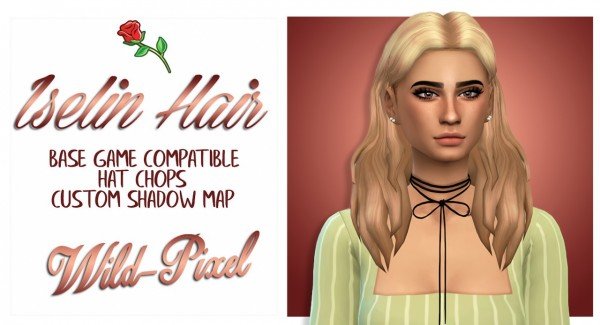 In My Dreams: Iselin Hair for Sims 4