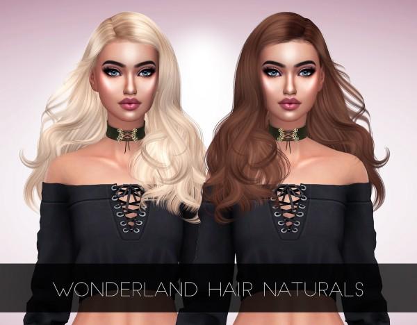 Kenzar Sims: Wonderland Hair Retextured for Sims 4