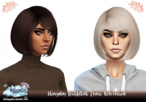 Shimydim: NightCrawler`s Dove hair retextured for Sims 4