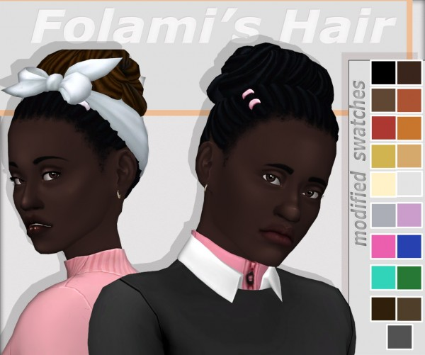 Dbasiasimbr: Apricotias hair retextured for Sims 4