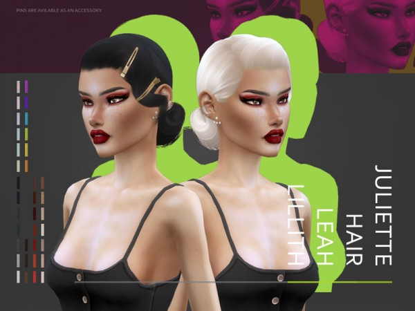 The Sims Resource: Juliette Har by Leah Lillith for Sims 4