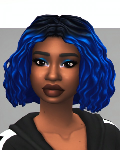 Savvy Sweet: The Bey Bob ombre hair recolored for Sims 4