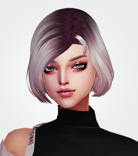 Kim Simjo: You and I Hair for Sims 4