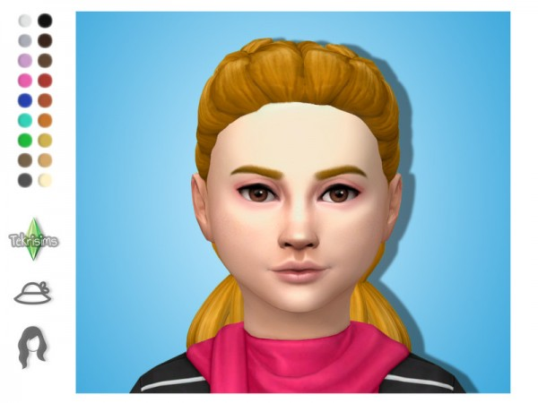 The Sims Resource: Katie Hair by TekriSims for Sims 4