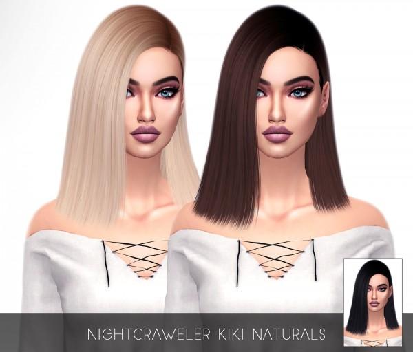 Kenzar Sims: Kiki Hair Retextured for Sims 4