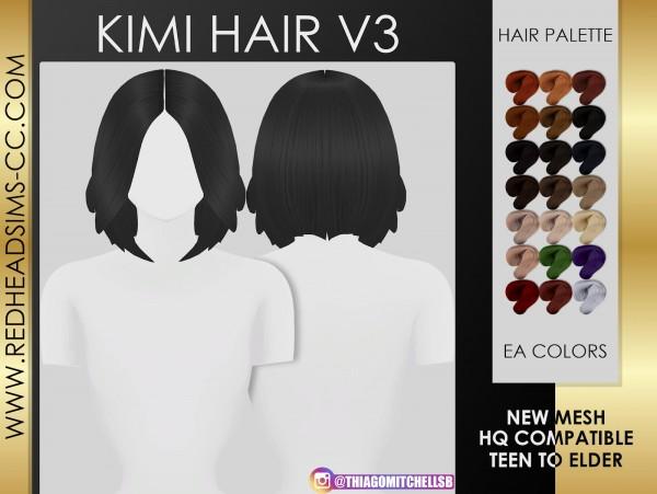 Coupure Electrique: Kimi Hair for Sims 4