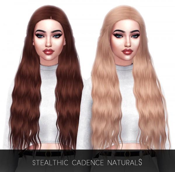 Kenzar Sims: Cadence hair Retextured for Sims 4