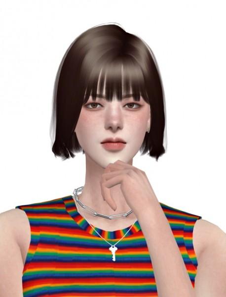 Lemon: Ket Hair for Sims 4