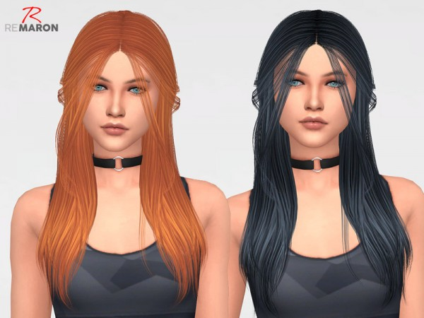 The Sims Resource: Make Up Hair Retextured by Remaron for Sims 4