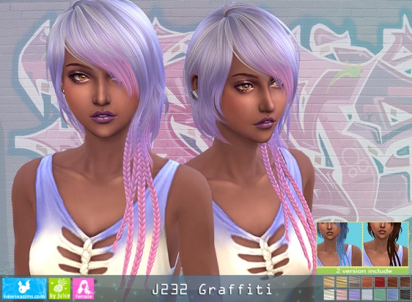 NewSea: J232 Grafitti for Sims 4