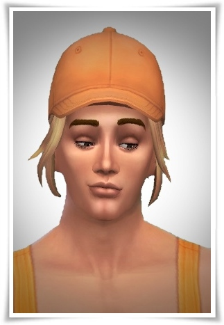 Birksches sims blog: Short Pony Lose Side Hair for Sims 4