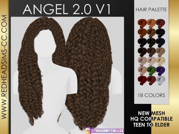 Coupure Electrique: Angel Hair for Sims 4