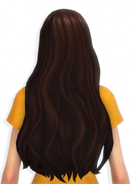 Simandy: Almond Hair for Sims 4