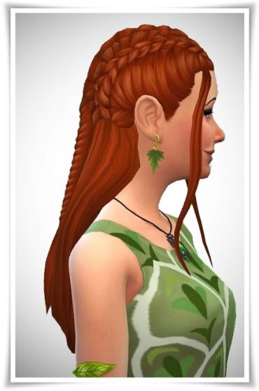 Birksches sims blog: Tauriel Braids for Sims 4