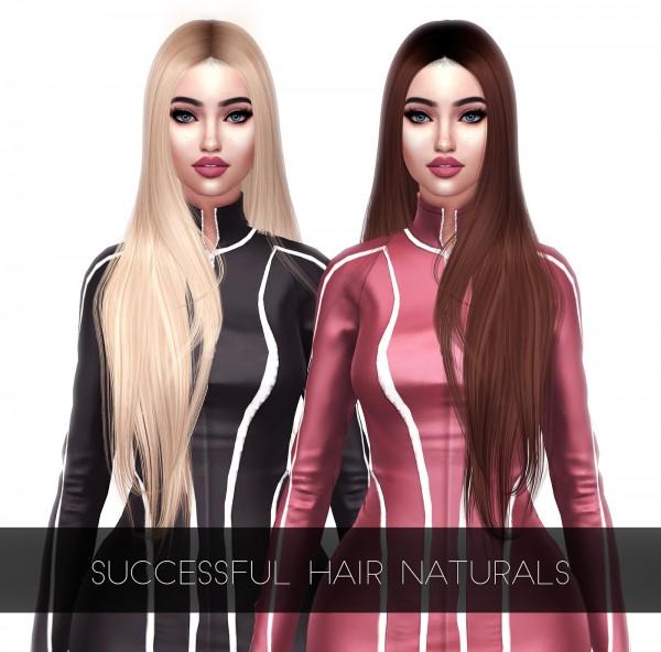 Kenzar Sims: Successful hair retextured for Sims 4