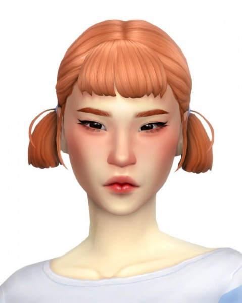Simandy: Biscuit Hair for Sims 4