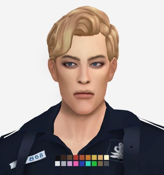 Effie: Bjorn Hair for Sims 4