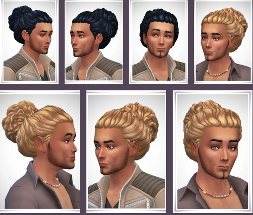 Birksches sims blog: Low Pile hair for him for Sims 4