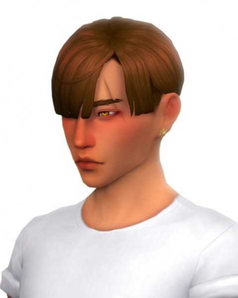 Simandy: Kang hair for Sims 4
