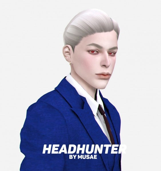 Effie: Headhunter Hair for Sims 4