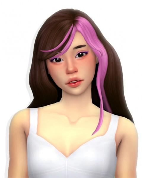 Simandy: Puzzle hair for Sims 4