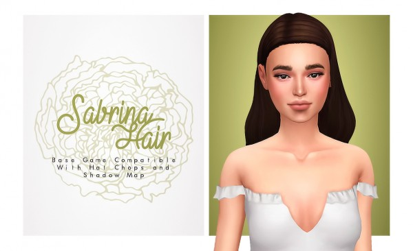 Isjao: Sabrina Hair for Sims 4