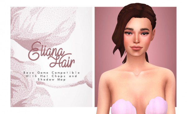 Isjao: Eliana Hair for Sims 4
